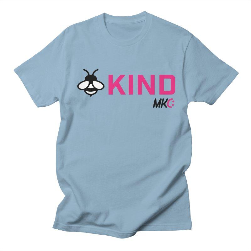 Bee Kind Women's Regular Unisex T-Shirt by MakeKindnessContagious's Artist Shop