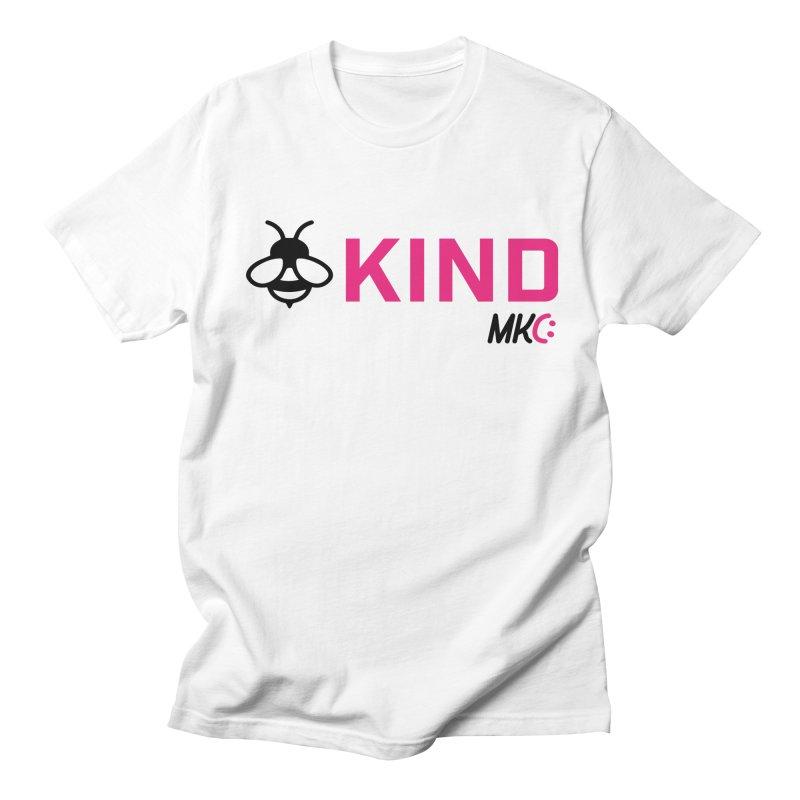 Bee Kind Men's Regular T-Shirt by MakeKindnessContagious's Artist Shop