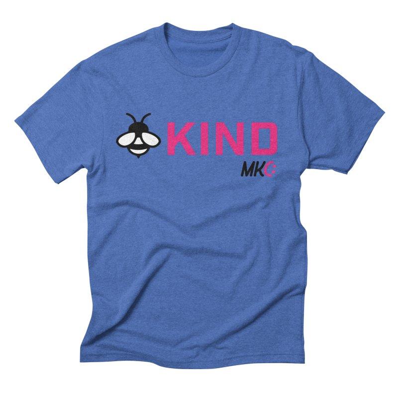Bee Kind Men's Triblend T-Shirt by MakeKindnessContagious's Artist Shop
