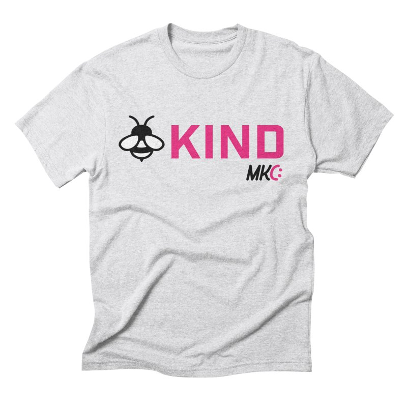 Bee Kind Men's Triblend T-Shirt by MakeKindnessContagious's Artist Shop