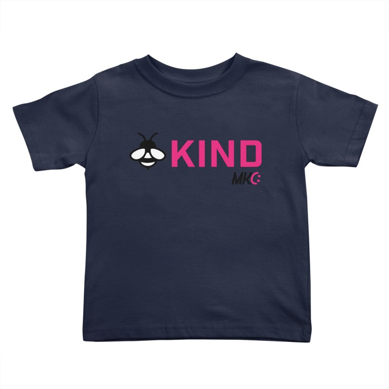 Bee Kind Kids Toddler T-Shirt by MakeKindnessContagious's Artist Shop