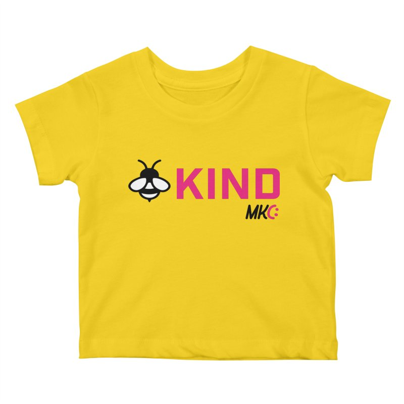 Bee Kind Kids Baby T-Shirt by MakeKindnessContagious's Artist Shop