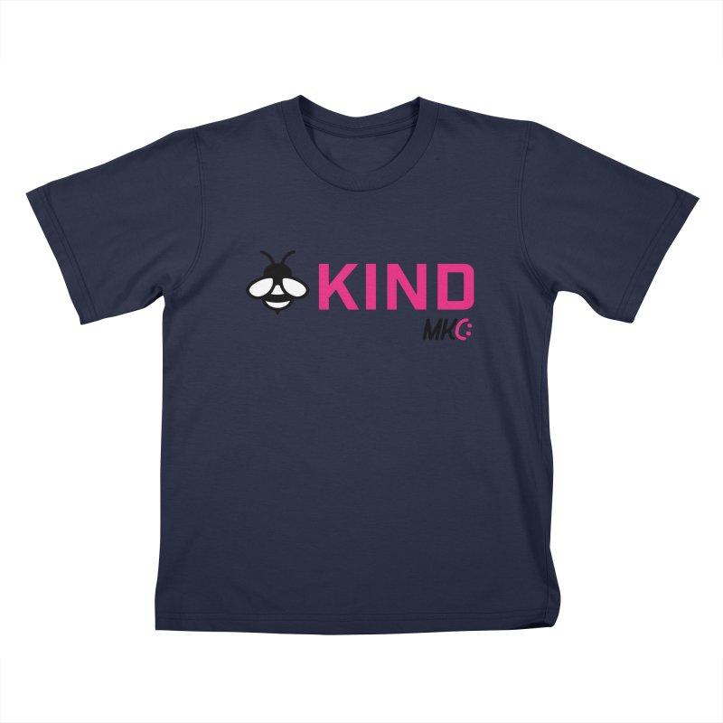 Bee Kind Kids T-Shirt by MakeKindnessContagious's Artist Shop