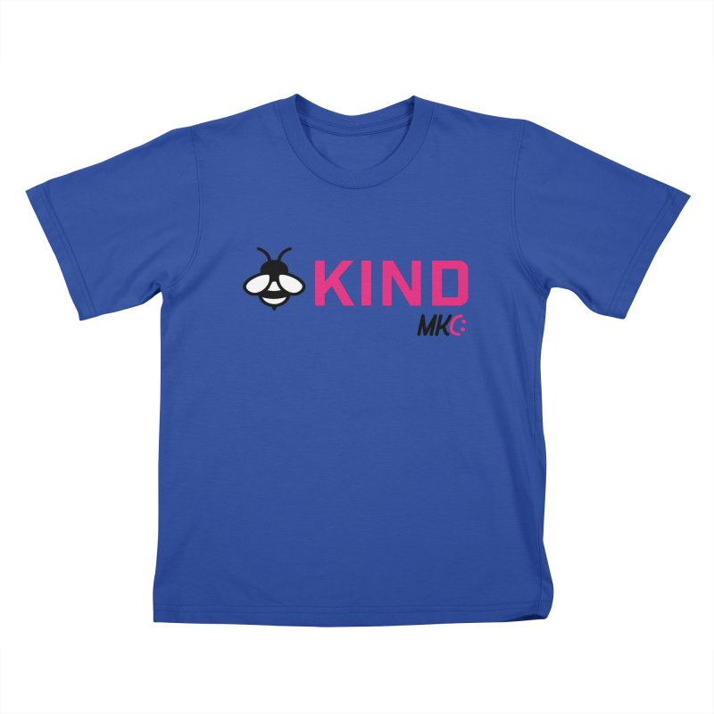 Bee Kind Kids T-Shirt by MakeKindnessContagious's Artist Shop