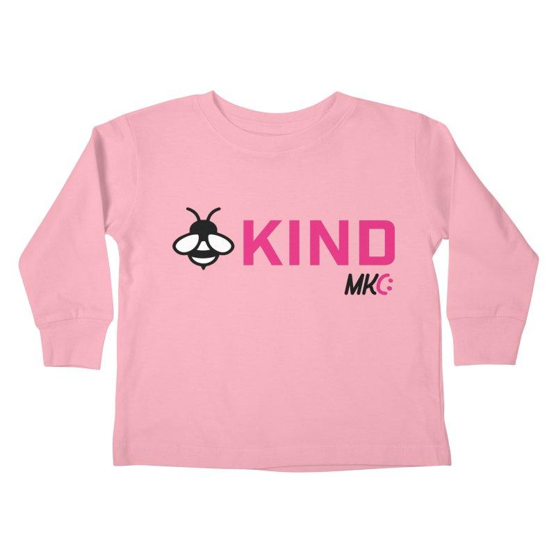 Bee Kind Kids Toddler Longsleeve T-Shirt by MakeKindnessContagious's Artist Shop
