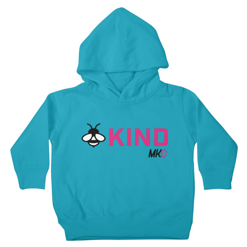 Bee Kind Kids Toddler Pullover Hoody by MakeKindnessContagious's Artist Shop