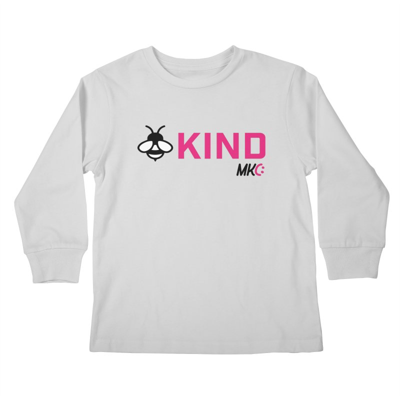Bee Kind Kids Longsleeve T-Shirt by MakeKindnessContagious's Artist Shop