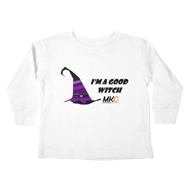 Good Witch Kids Toddler Longsleeve T-Shirt by MakeKindnessContagious's Artist Shop