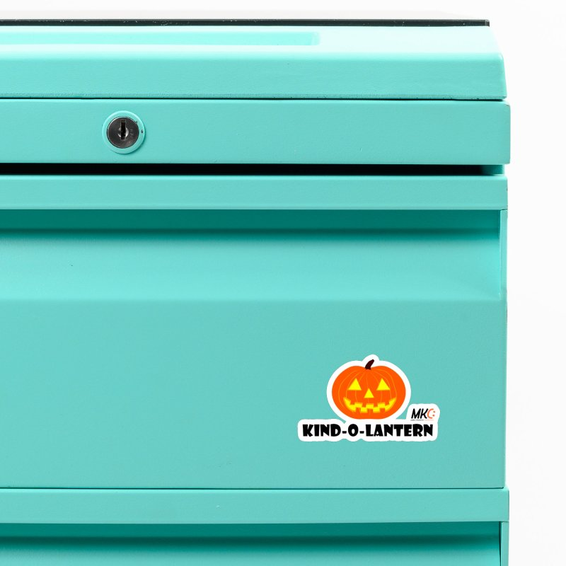 Kind-o-Lantern Accessories Magnet by MakeKindnessContagious's Artist Shop