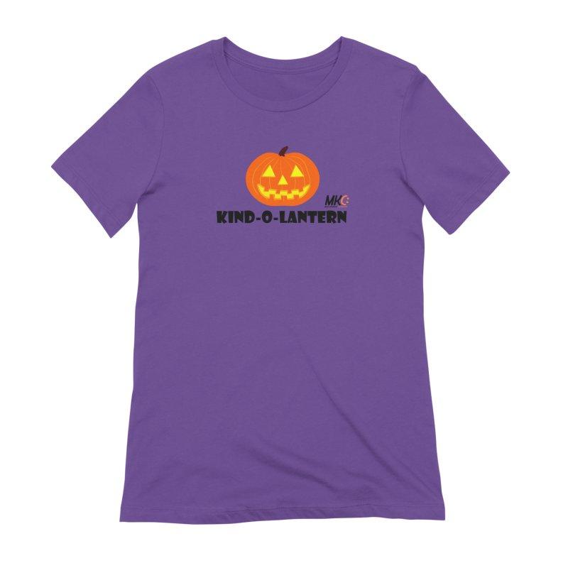 Kind-o-Lantern Women's Extra Soft T-Shirt by MakeKindnessContagious's Artist Shop