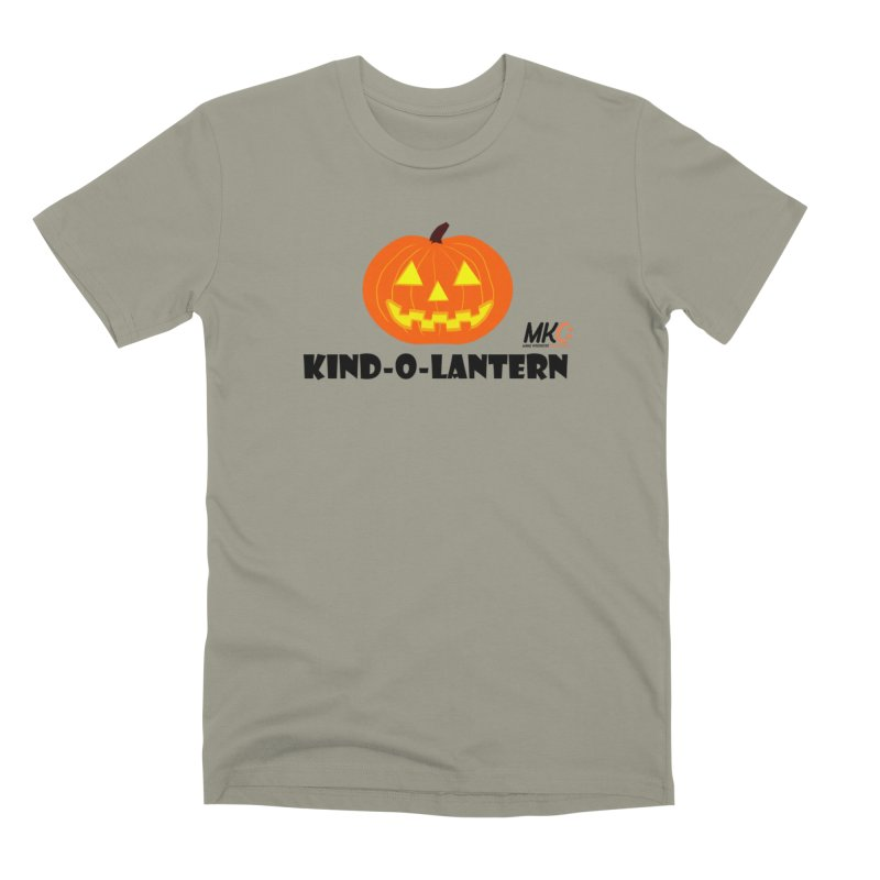 Kind-o-Lantern Men's Premium T-Shirt by MakeKindnessContagious's Artist Shop