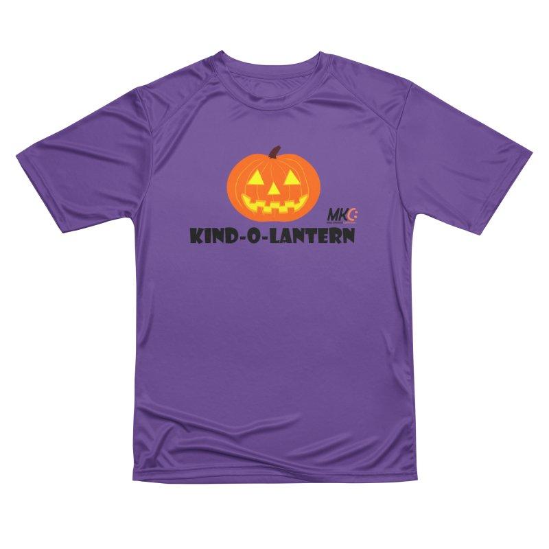 Kind-o-Lantern Women's Performance Unisex T-Shirt by MakeKindnessContagious's Artist Shop