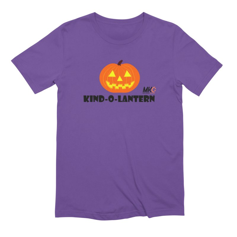 Kind-o-Lantern Men's Extra Soft T-Shirt by MakeKindnessContagious's Artist Shop