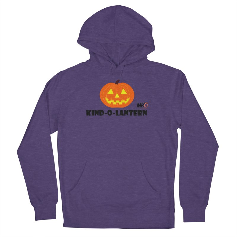 Kind-o-Lantern Men's French Terry Pullover Hoody by MakeKindnessContagious's Artist Shop