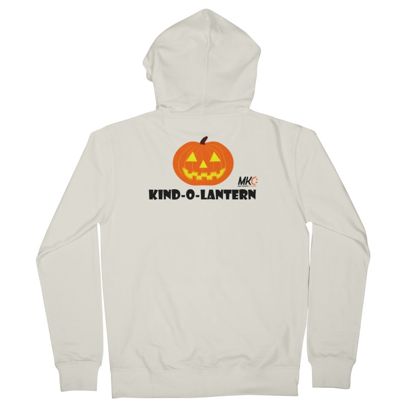 Kind-o-Lantern Men's French Terry Zip-Up Hoody by MakeKindnessContagious's Artist Shop