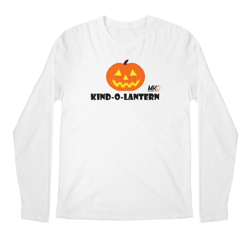Kind-o-Lantern Men's Regular Longsleeve T-Shirt by MakeKindnessContagious's Artist Shop