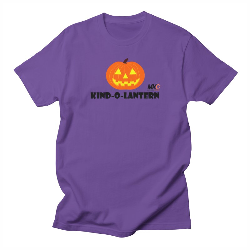 Kind-o-Lantern Women's Regular Unisex T-Shirt by MakeKindnessContagious's Artist Shop