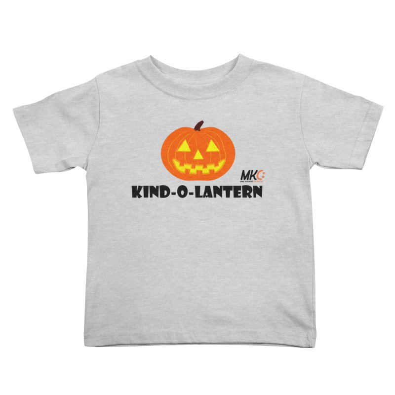 Kind-o-Lantern Kids Toddler T-Shirt by MakeKindnessContagious's Artist Shop