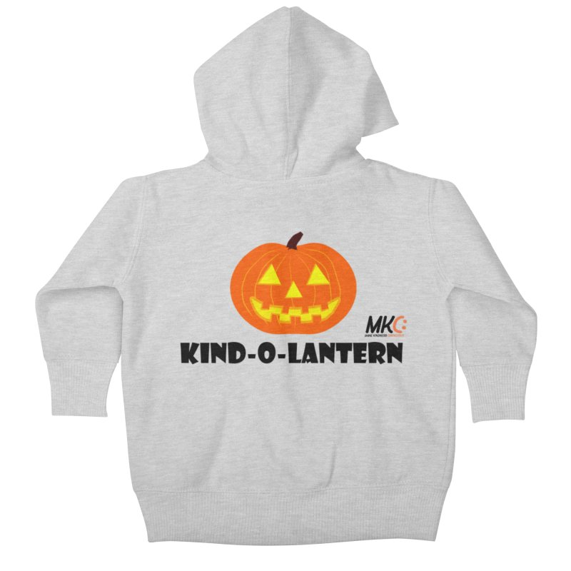 Kind-o-Lantern Kids Baby Zip-Up Hoody by MakeKindnessContagious's Artist Shop