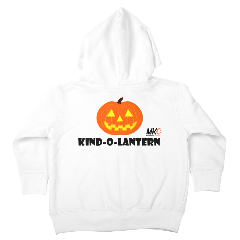 Kind-o-Lantern Kids Toddler Zip-Up Hoody by MakeKindnessContagious's Artist Shop