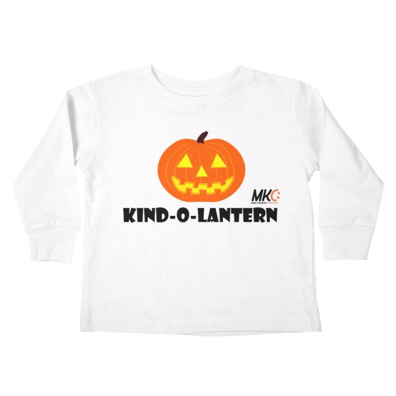 Kind-o-Lantern Kids Toddler Longsleeve T-Shirt by MakeKindnessContagious's Artist Shop