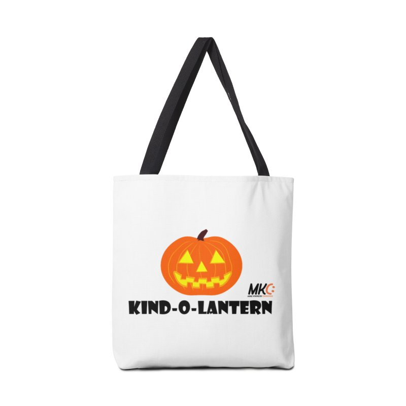 Kind-o-Lantern Accessories Tote Bag Bag by MakeKindnessContagious's Artist Shop