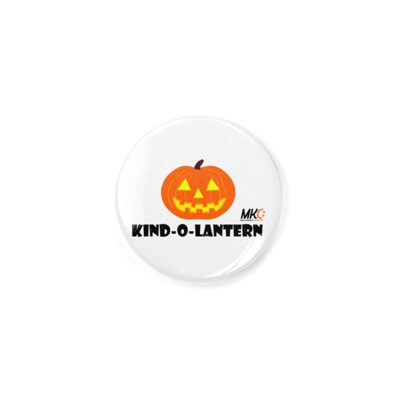 Kind-o-Lantern Accessories Button by MakeKindnessContagious's Artist Shop