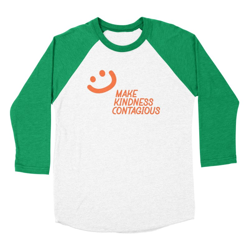 Baseball Season Women's Baseball Triblend Longsleeve T-Shirt by MakeKindnessContagious's Artist Shop