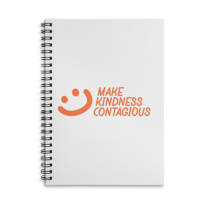 Smile! Accessories Lined Spiral Notebook by MakeKindnessContagious's Artist Shop