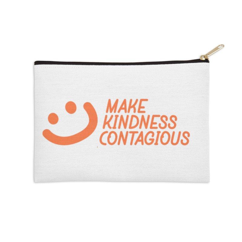 Smile! Accessories Zip Pouch by MakeKindnessContagious's Artist Shop
