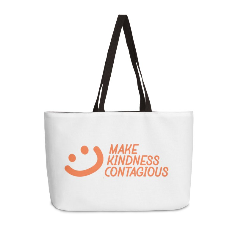 Smile! Accessories Weekender Bag Bag by MakeKindnessContagious's Artist Shop