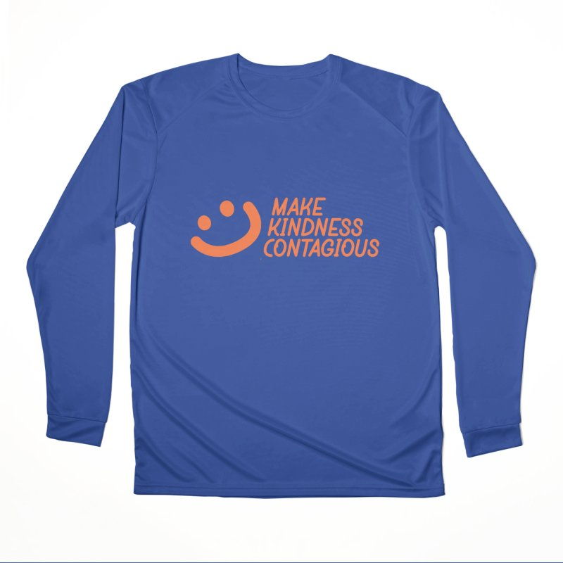 Smile! Men's Performance Longsleeve T-Shirt by MakeKindnessContagious's Artist Shop
