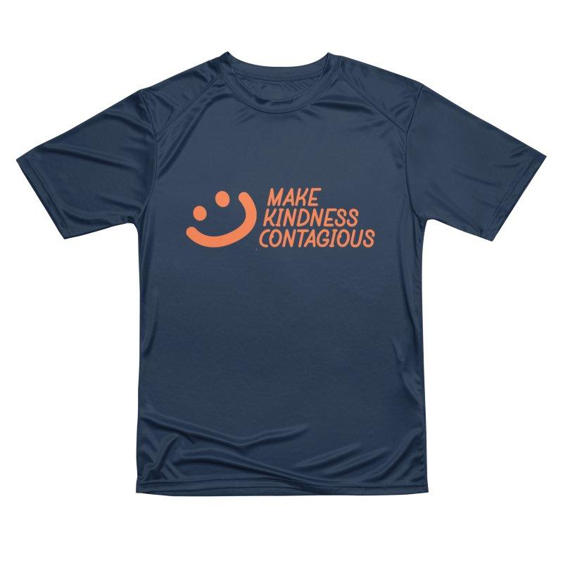 Smile! Men's Performance T-Shirt by MakeKindnessContagious's Artist Shop