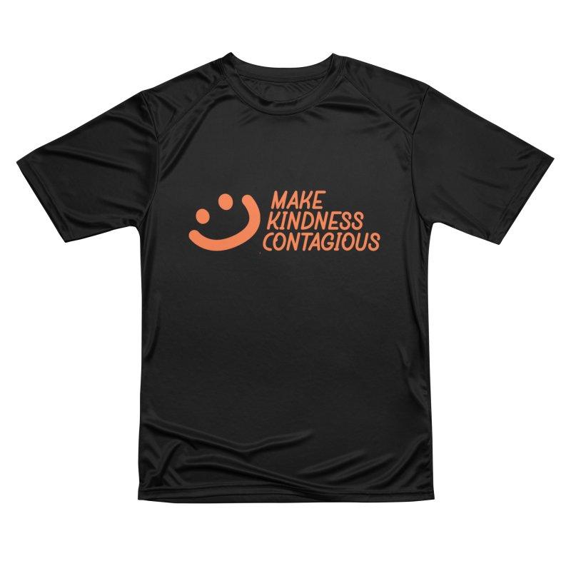 Smile! Women's Performance Unisex T-Shirt by MakeKindnessContagious's Artist Shop