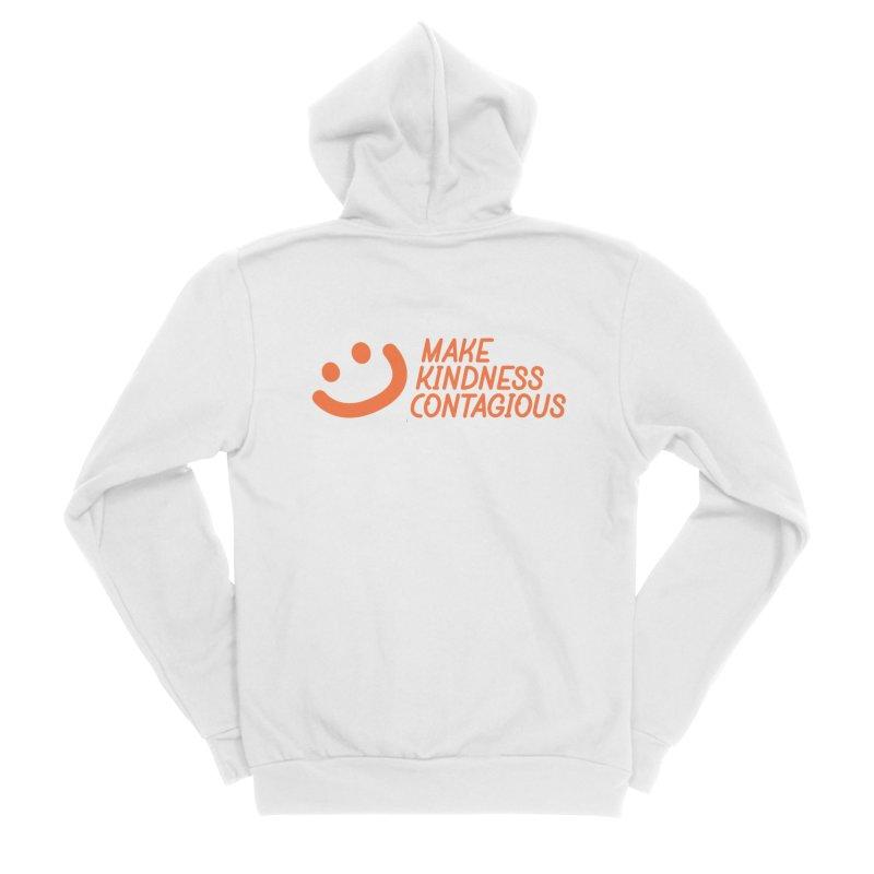 Smile! Men's Zip-Up Hoody by MakeKindnessContagious's Artist Shop