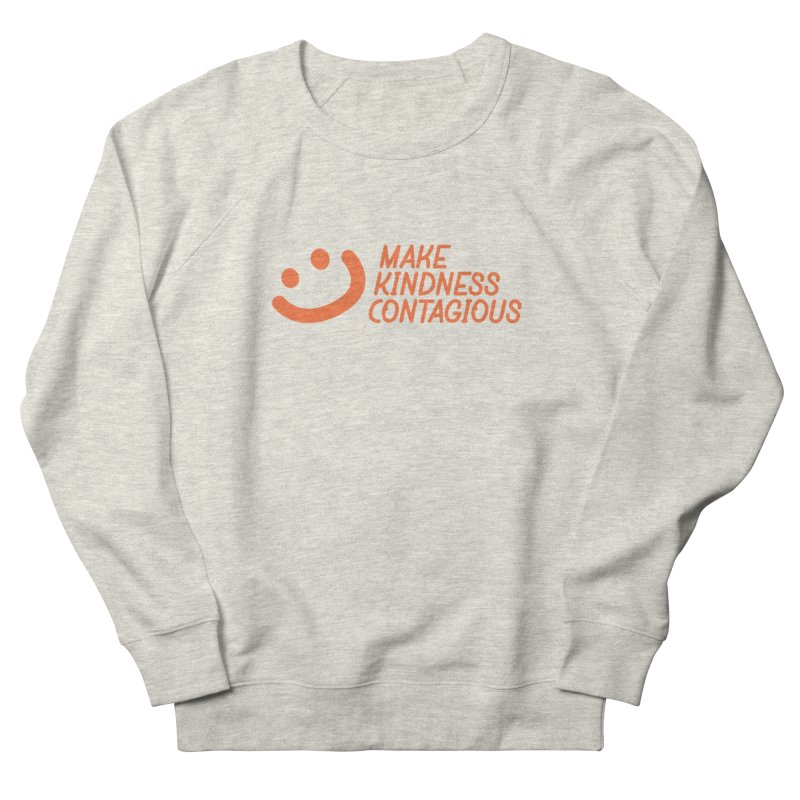 Smile! Men's French Terry Sweatshirt by MakeKindnessContagious's Artist Shop