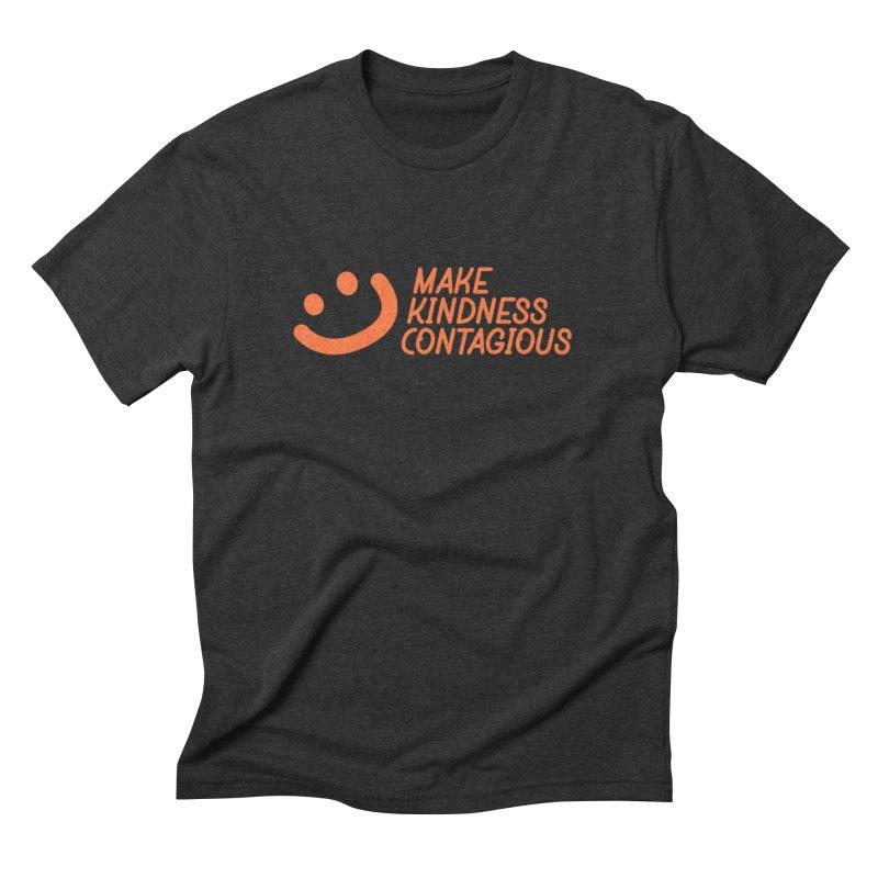 Smile! Men's Triblend T-Shirt by MakeKindnessContagious's Artist Shop