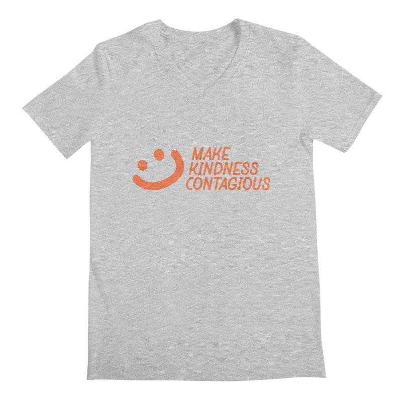 Smile! Men's Regular V-Neck by MakeKindnessContagious's Artist Shop