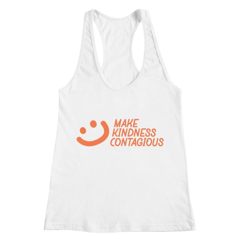 Smile! Women's Racerback Tank by MakeKindnessContagious's Artist Shop