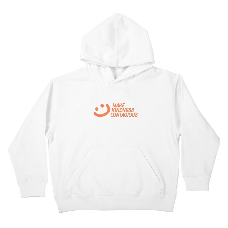 Smile! Kids Pullover Hoody by MakeKindnessContagious's Artist Shop