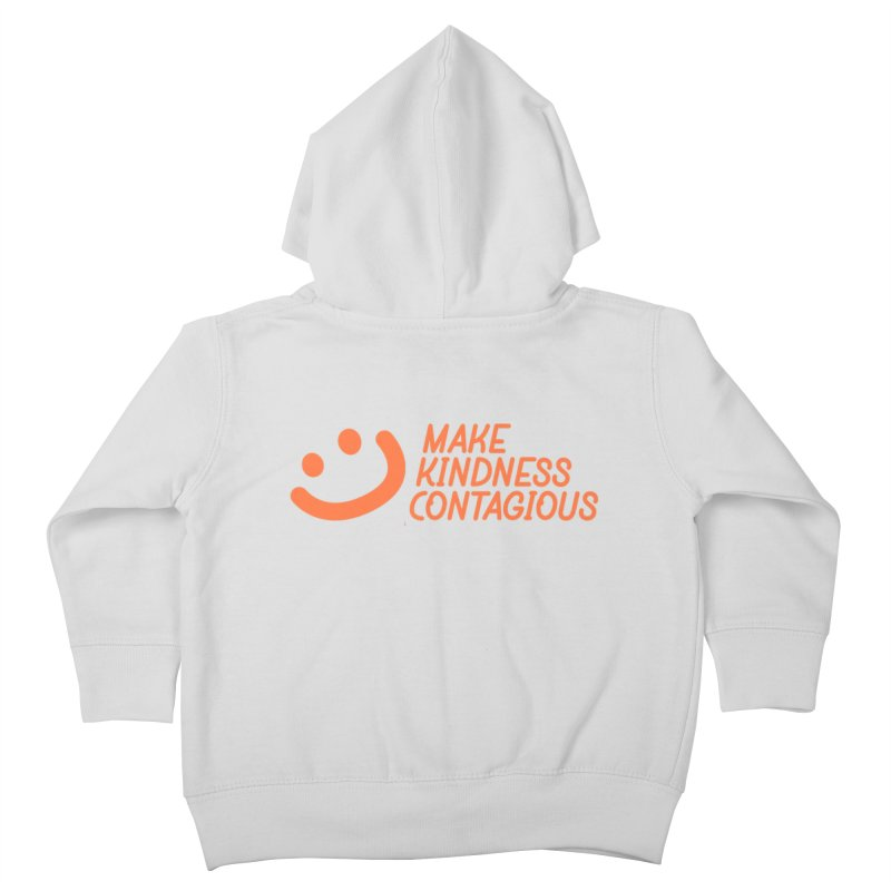 Smile! Kids Toddler Zip-Up Hoody by MakeKindnessContagious's Artist Shop