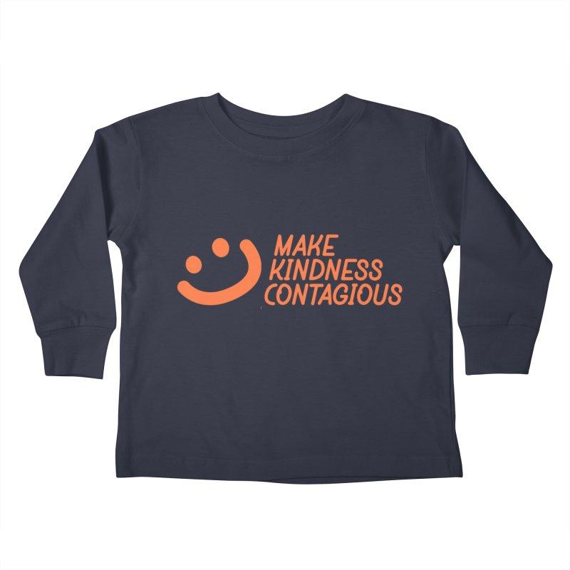 Smile! Kids Toddler Longsleeve T-Shirt by MakeKindnessContagious's Artist Shop
