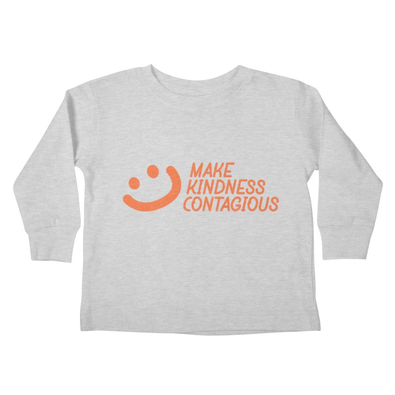 Smile! Kids Toddler Longsleeve T-Shirt by MakeKindnessContagious's Artist Shop