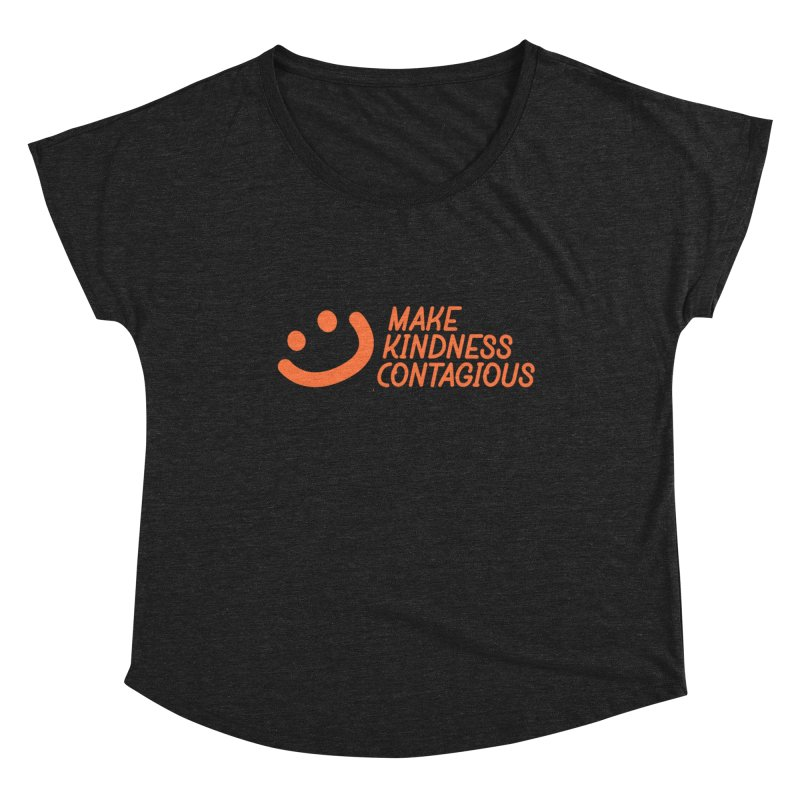 Smile! Women's Scoop Neck by MakeKindnessContagious's Artist Shop