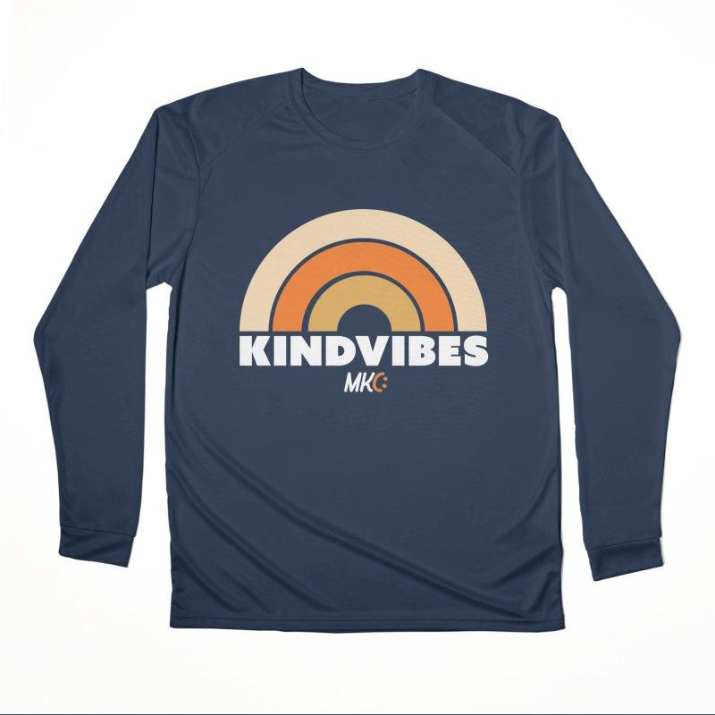 Kind Vibes Women's Performance Unisex Longsleeve T-Shirt by MakeKindnessContagious's Artist Shop