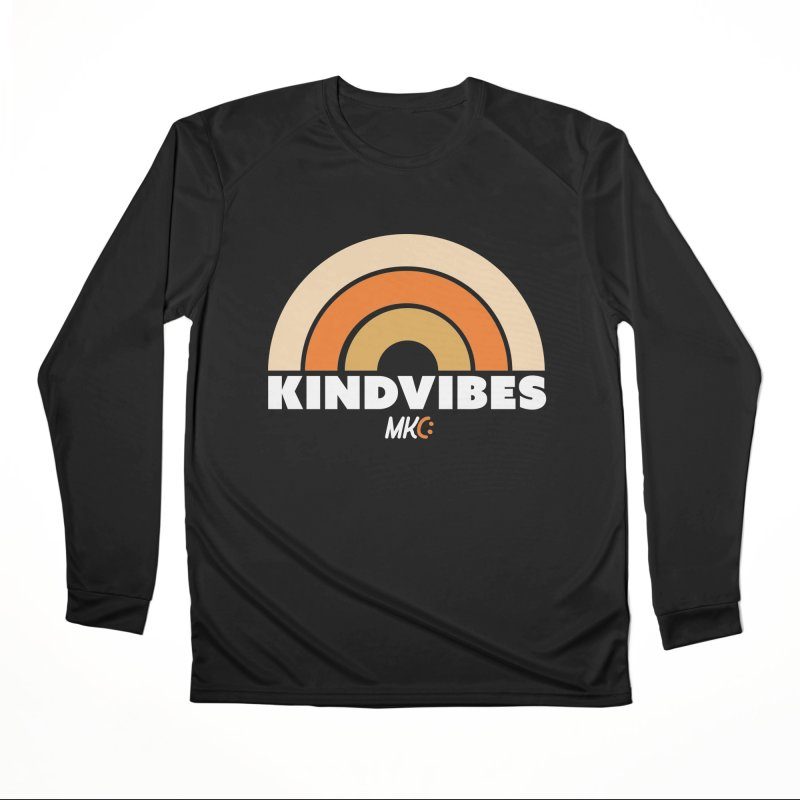 Kind Vibes Men's Performance Longsleeve T-Shirt by MakeKindnessContagious's Artist Shop