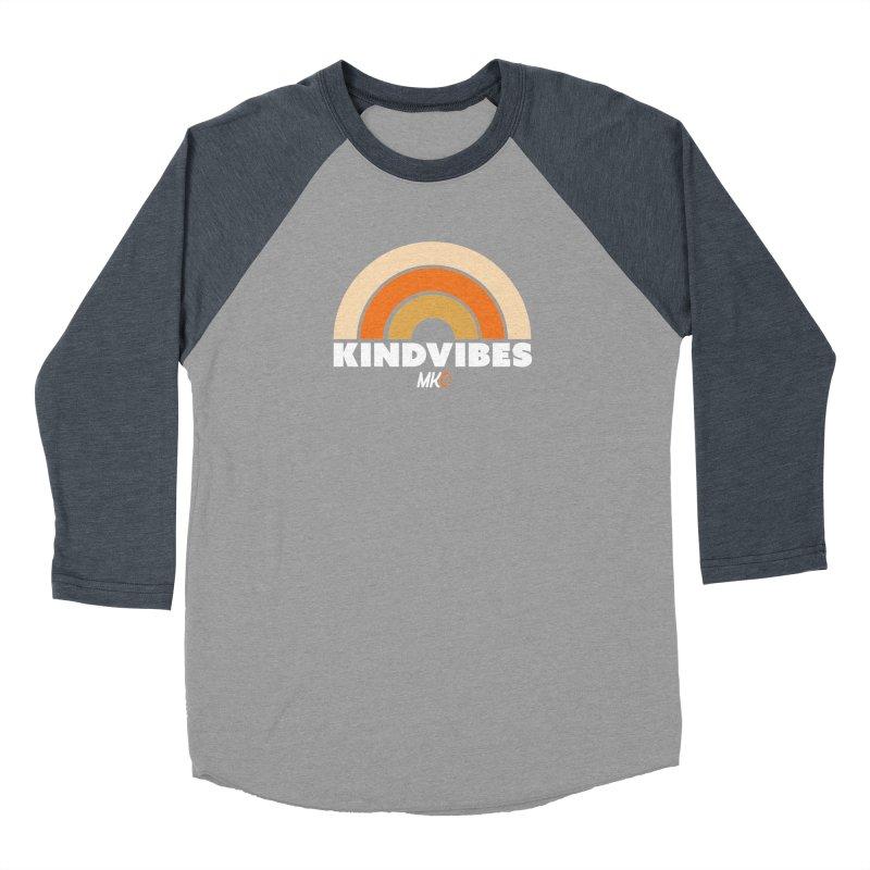 Kind Vibes Women's Baseball Triblend Longsleeve T-Shirt by MakeKindnessContagious's Artist Shop