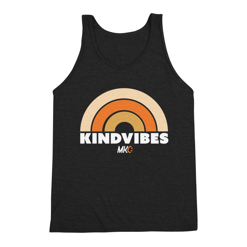 Kind Vibes Men's Triblend Tank by MakeKindnessContagious's Artist Shop