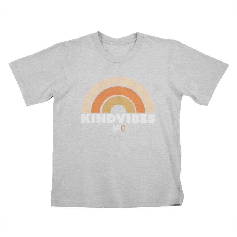 Kind Vibes Kids T-Shirt by MakeKindnessContagious's Artist Shop