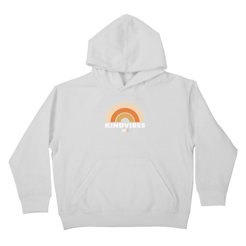 Kind Vibes Kids Pullover Hoody by MakeKindnessContagious's Artist Shop